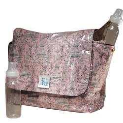 Logan Messenger Diaper Bag in Frenchie