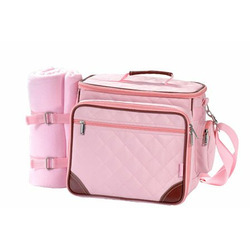 Picnic Gift 8020 Baby Boo Pink Deluxe Insulated Baby Pack w/Blanket