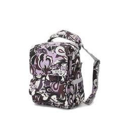 Ju Ju Be - PackaBe Diaper Bag in Purple Paisley