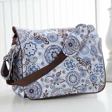 Bumble Bags Jessica Messenger Backpack Diaper Bag - Starry Sky - BUM122