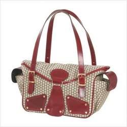 Mia Bossi MB103 Maria Diaper Bag in Red Pepper