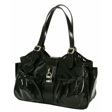 Mia Bossi Diaper Bag Caryn In Caviar