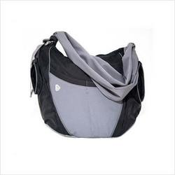 Go Gaga B-SL04 The Slide Diaper Bag in Black and Gray
