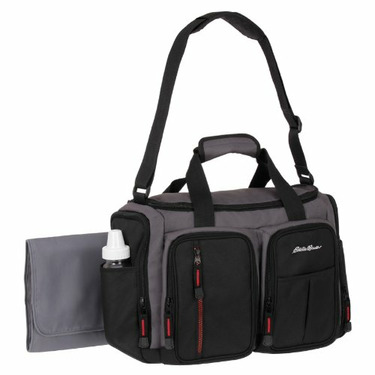 Eddie Bauer Duffle Style Diaper Bag - Belmont Collection