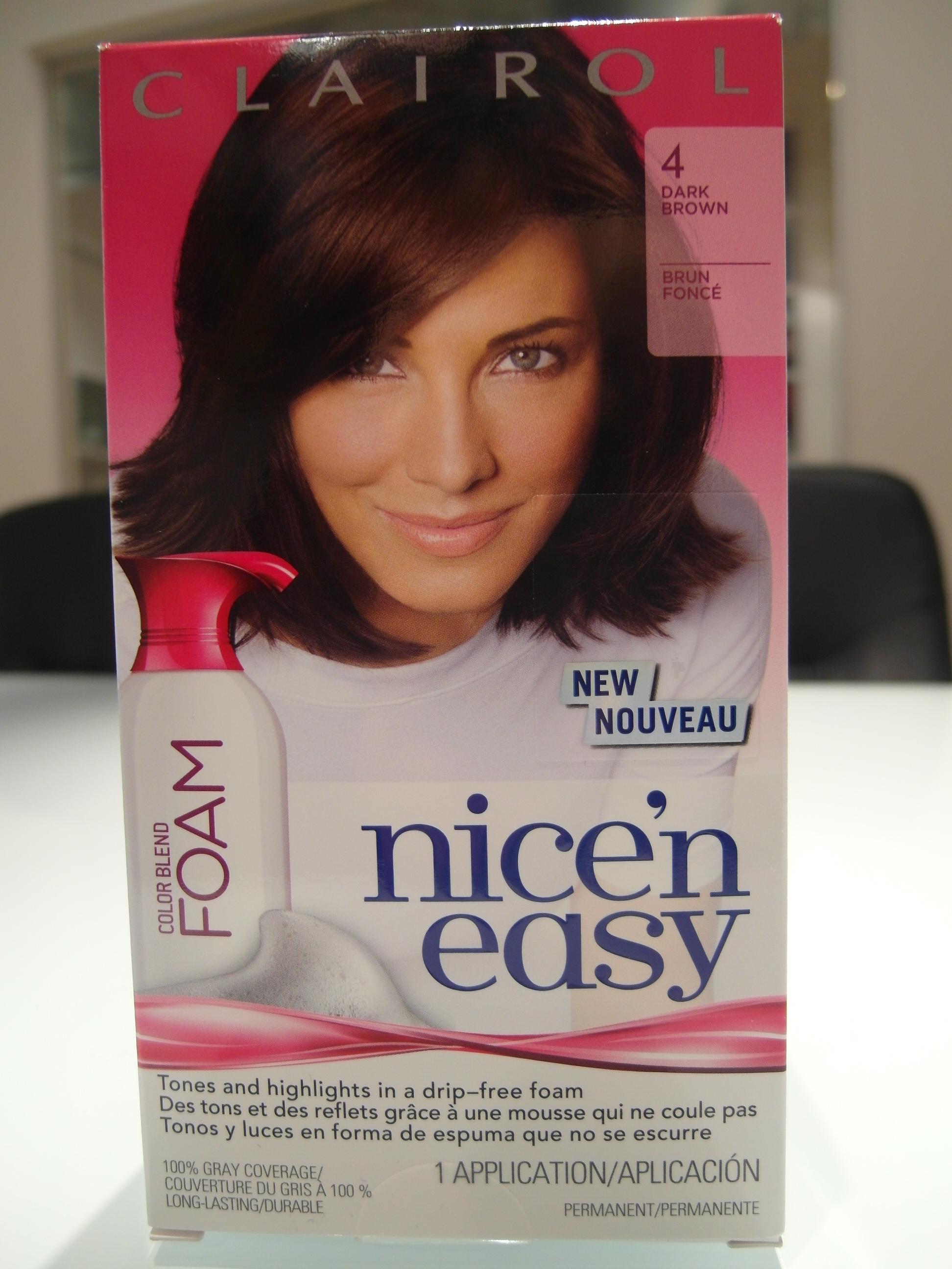 Clairol Nice N Easy Color Blend Foam Reviews In Hair
