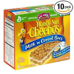 Honey Nut Cheerios Milk 'N Cereal Bars