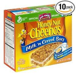 Honey Nut Cheerios Milk 'N Cereal Bars