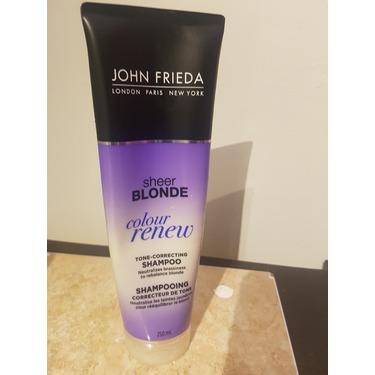 John Frieda Sheer Blonde Color Renew Tone Correcting Shampoo Reviews In Shampoo Chickadvisor