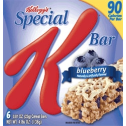 Kellogg's Special K Blueberry Cereal Bars
