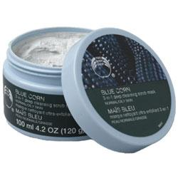 The Body Shop Blue Corn 3 in 1 Deep Cleansing Scrub Mask
