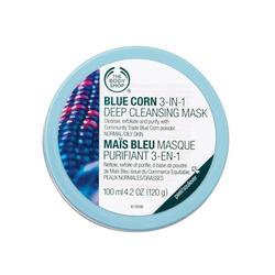 The Body Shop Blue Corn 3 in 1 Deep Cleansing Scrub Mask