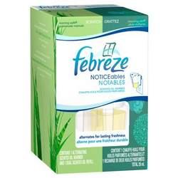 Febreze NOTICEables Dual Scented Pluggable Air Freshener Lavender Comfort & Gentle Vanilla