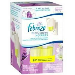 Febreze NOTICEables Dual Scented Pluggable Air Freshener Lavender Comfort & Gentle Vanilla