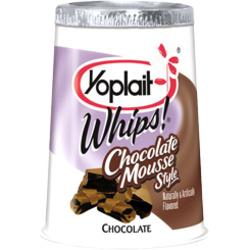 Yoplait Whips! Chocolate Mousse Style Yogurt