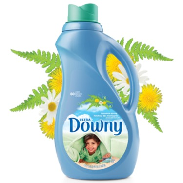 Ultra Downy Mountain Spring Liquid Fabric Softener