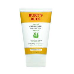 Burt's Bees Natural Anti-Blemish Solutions Pore Refining Scrub