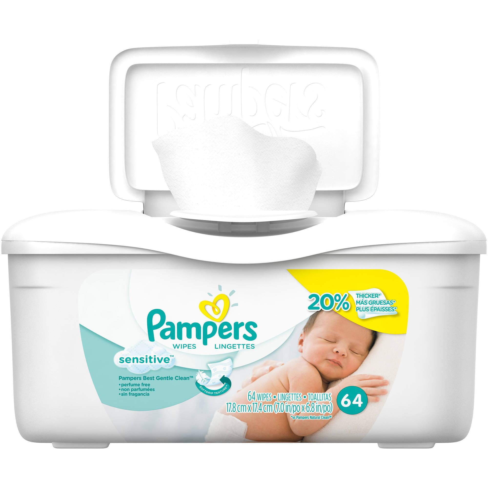 Pampers Sensitive Thick Care Baby Wipes Reviews In Baby