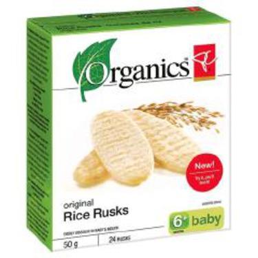 PC Organics Original Rice Rusks
