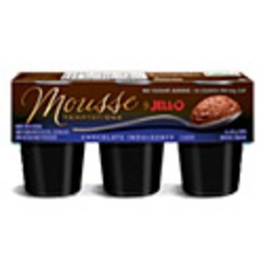 JELL-O Mousse Temptations - Chocolate Indulgence