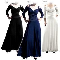 Evanese 3/4 sleeve dress