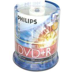 Philips DVD-R discs 100Pk