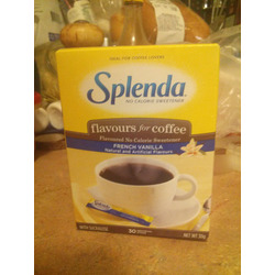 SPLENDA No Calorie Sweetener, Flavours for Coffee, French Vanilla