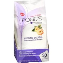 Pond's Evening Soothe Cleansing Towelettes