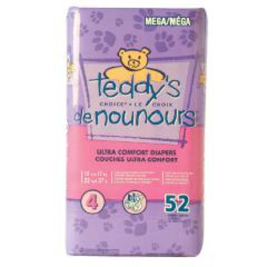 Teddy's Choice Ultra Comfort Diapers