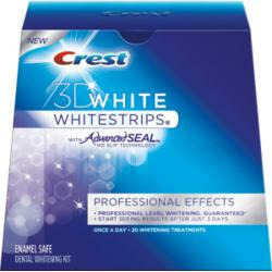 Crest 3D White Professional Effects Whitestrips