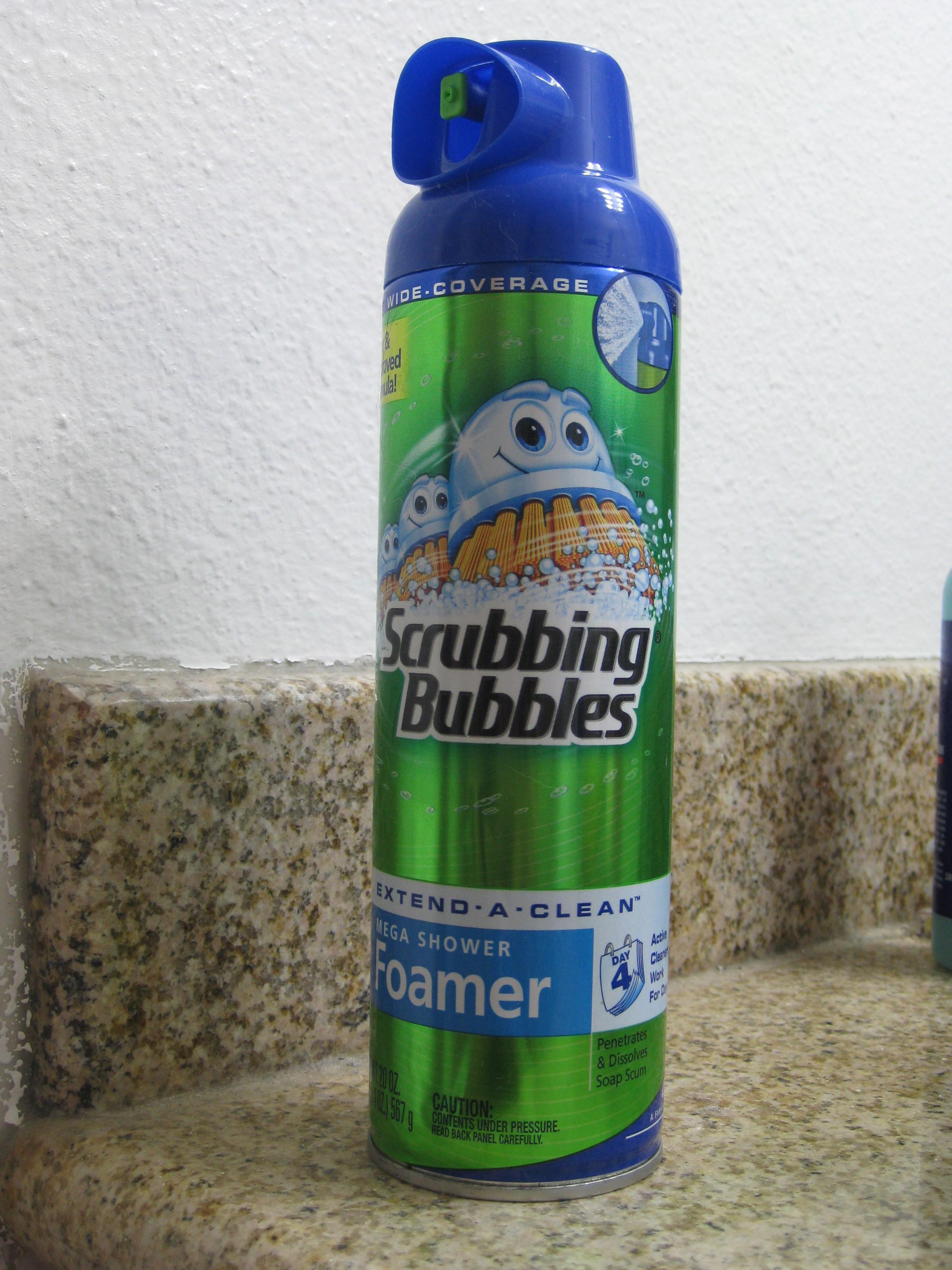 Scrubbing Bubbles Mega Shower Foamer Reviews In Bathroom