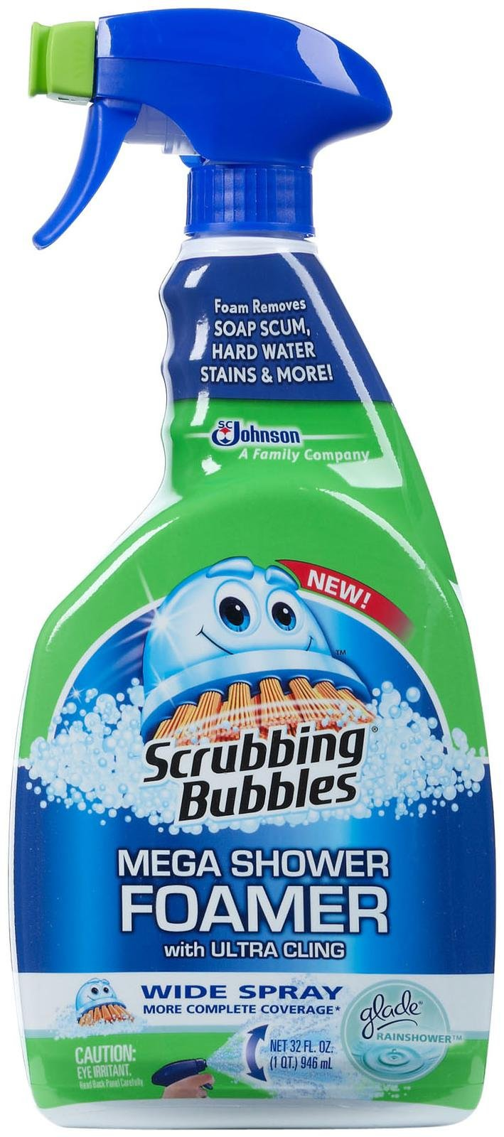 Scrubbing Bubbles Mega Shower Foamer Image Gallery