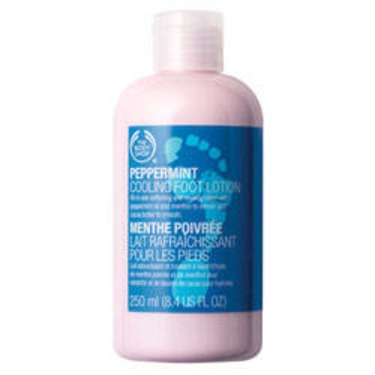The Body Shop Peppermint Cooling Foot Lotion