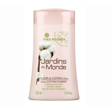 Yves Rocher Indian Cotton Flower Shower Cream