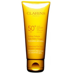 Clarins Paris SPF 50  Sunsceen Control Cream For Face