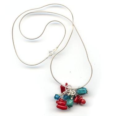 Blush Beads Cluster - Paradise