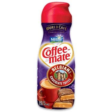 Coffee-Mate Belgian Toffee