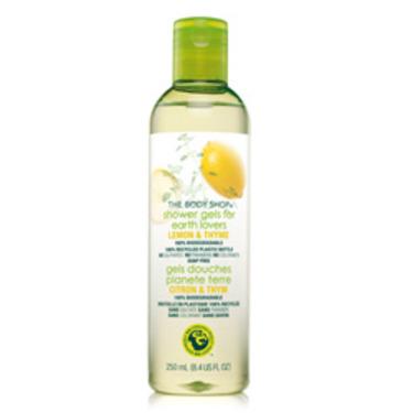 The Body Shop Lemon & Thyme Shower Gel For Earth Lovers