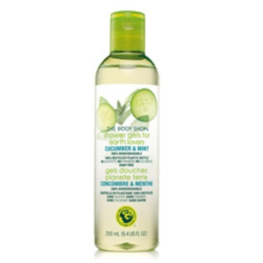 The Body Shop Cucumber & Mint Shower Gel For Earth Lovers