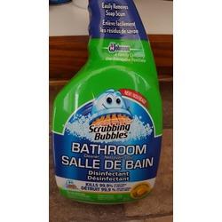 Scrubbing Bubbles Bathroom Cleaner