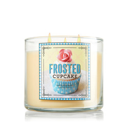 Bath & Body Works Frosted Cupcake Candle