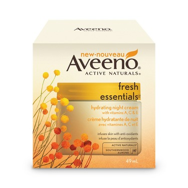 Aveeno Fresh Essentials Hydrating Night Cream