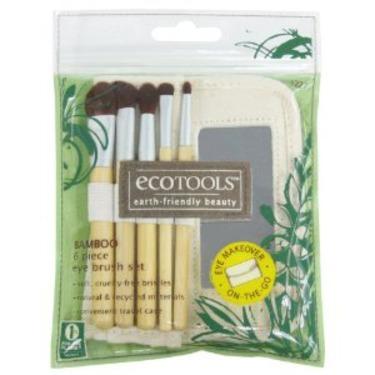 EcoTools Bamboo Eye Brush Set, 6 Piece