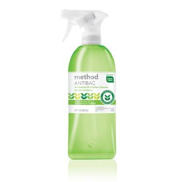 Method Antibacterial Kitchen Cleaning Spray Lemon Verbena