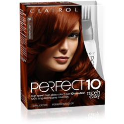 Clairol Nice 'n Easy Perfect 10 in Ginger in a Snap