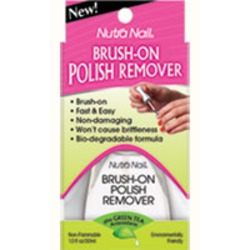 Nutra Nail Brush-On Polish Remover plus Green Tea Antioxidants