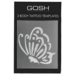 GOSH Cosmetics Body Tattoo Templates
