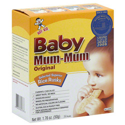 Baby Mum-Mum Original Selected Superior Rice Rusks