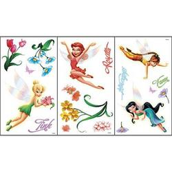 Disney© Fairies Self-Stick Room Appliques Wall Covering