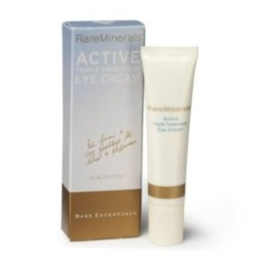 Rare Minerals Active Triple Treatment Eye Cream