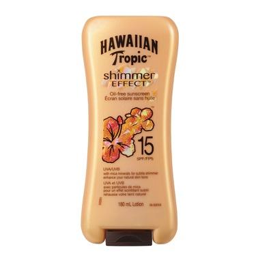 Hawaiian Tropic Shimmer Effect Sunscreen SPF 15